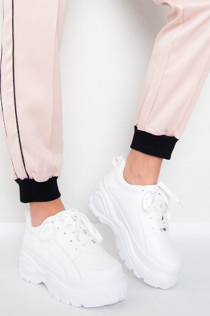 Chunky Sneakers Kylie White   Dam sneakers, Kläder, Sneakers