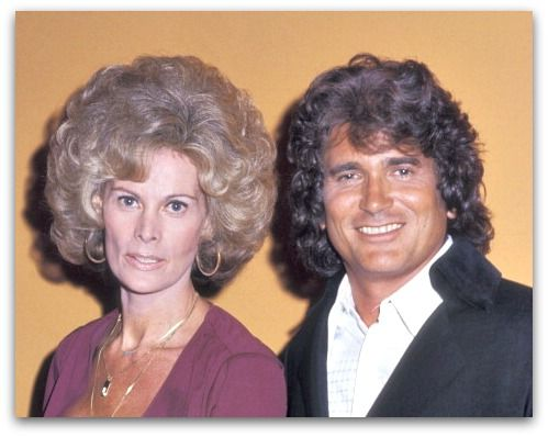 r Michael Landon and wife Lynn Noe attend the Hollywood ...