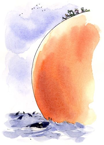 James and The Giant Peach illustration | Sir Quentin Blake ...