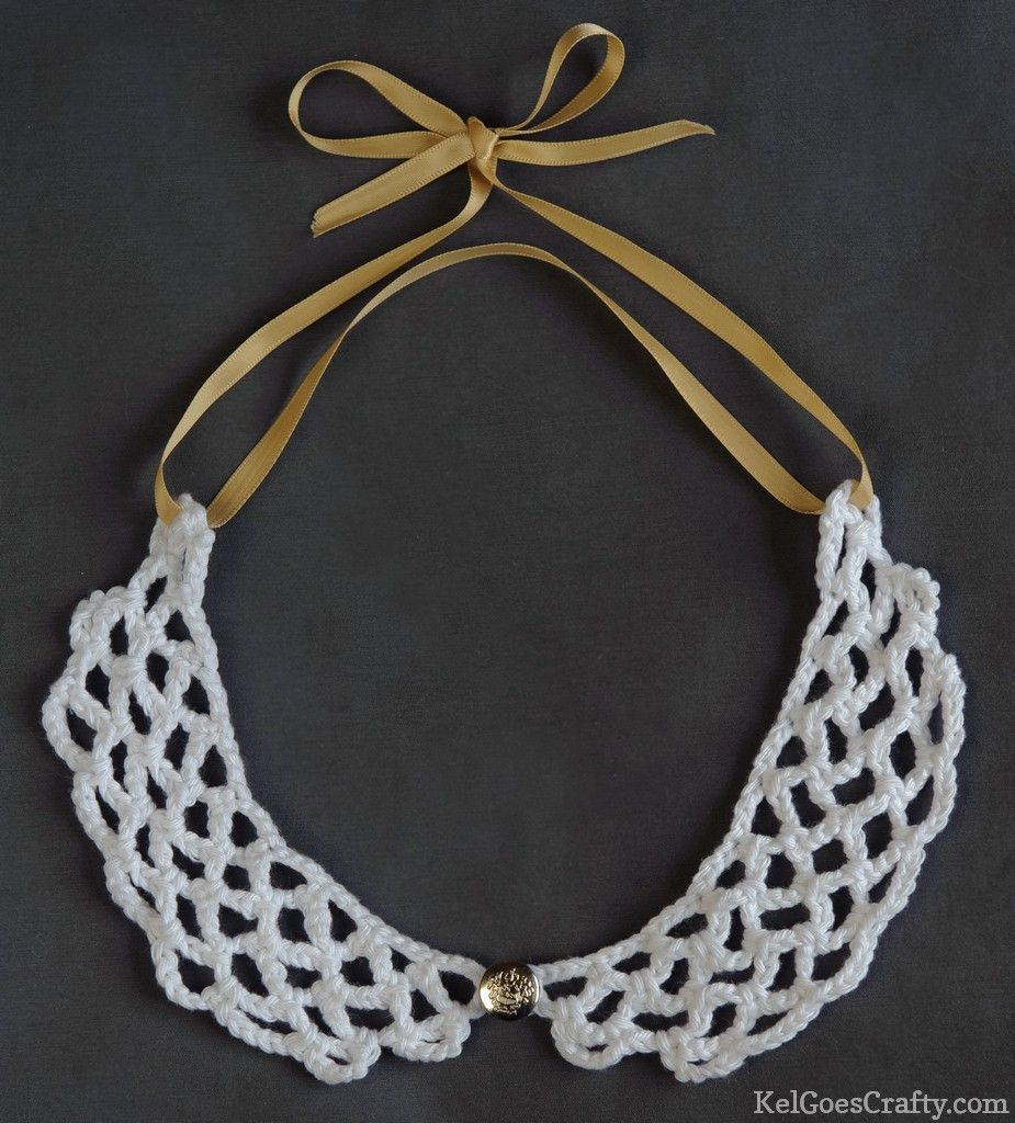 Makin this peter pan crochet collar yarn and thread makin this peter pan crochet collar bankloansurffo Image collections
