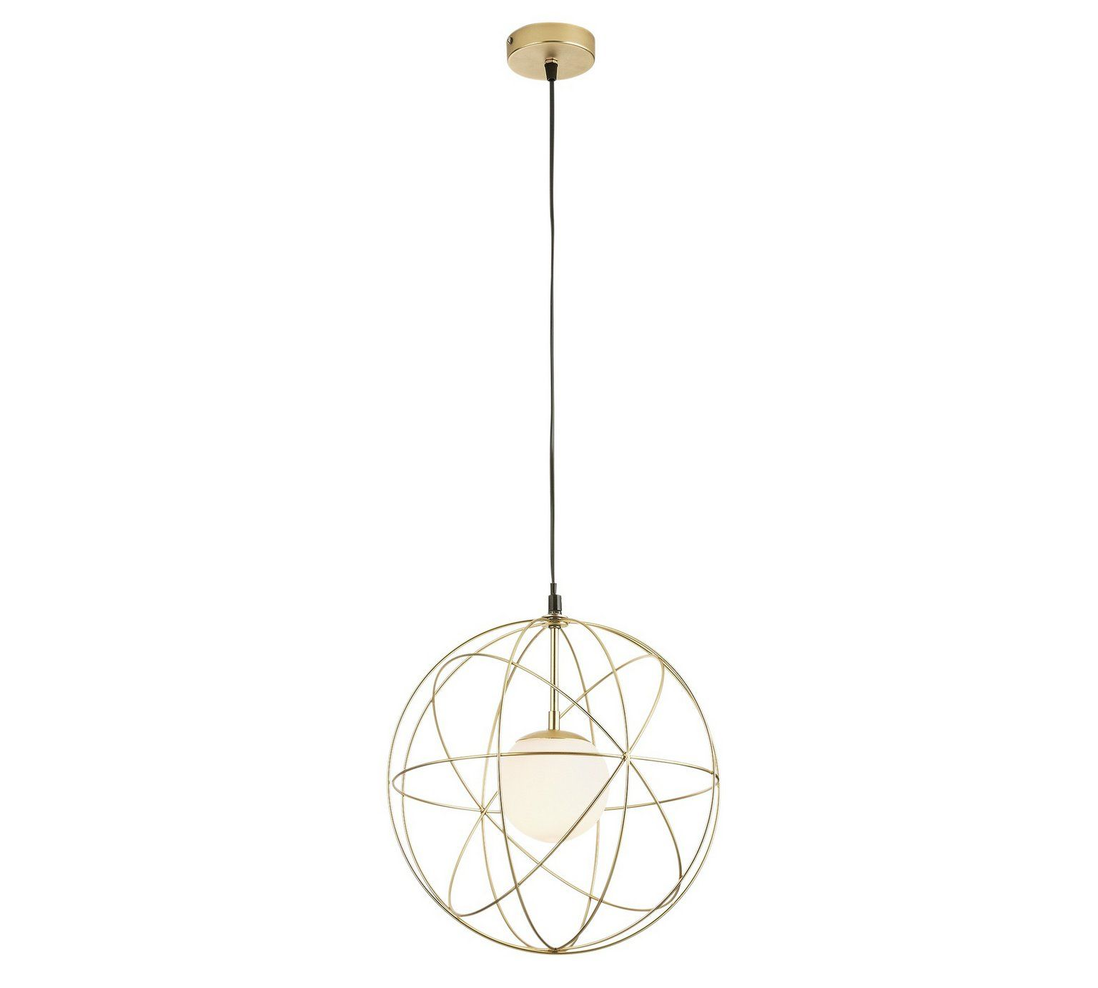Buy Collection Ceres Wire Sphere Pendant Light - Gold at Argos.co.uk ...