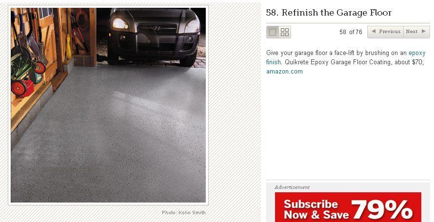 garage floor idea