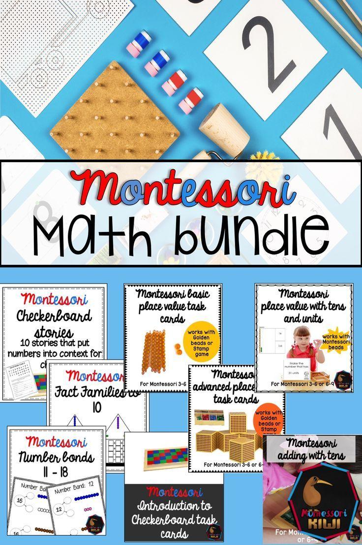 Math Bundle montessori preschool and elementary math resources ...