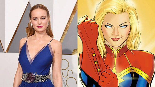 "Captain Marvel writer addresses casting of Brie Larson: ""I'm psyched"" - Movie News 