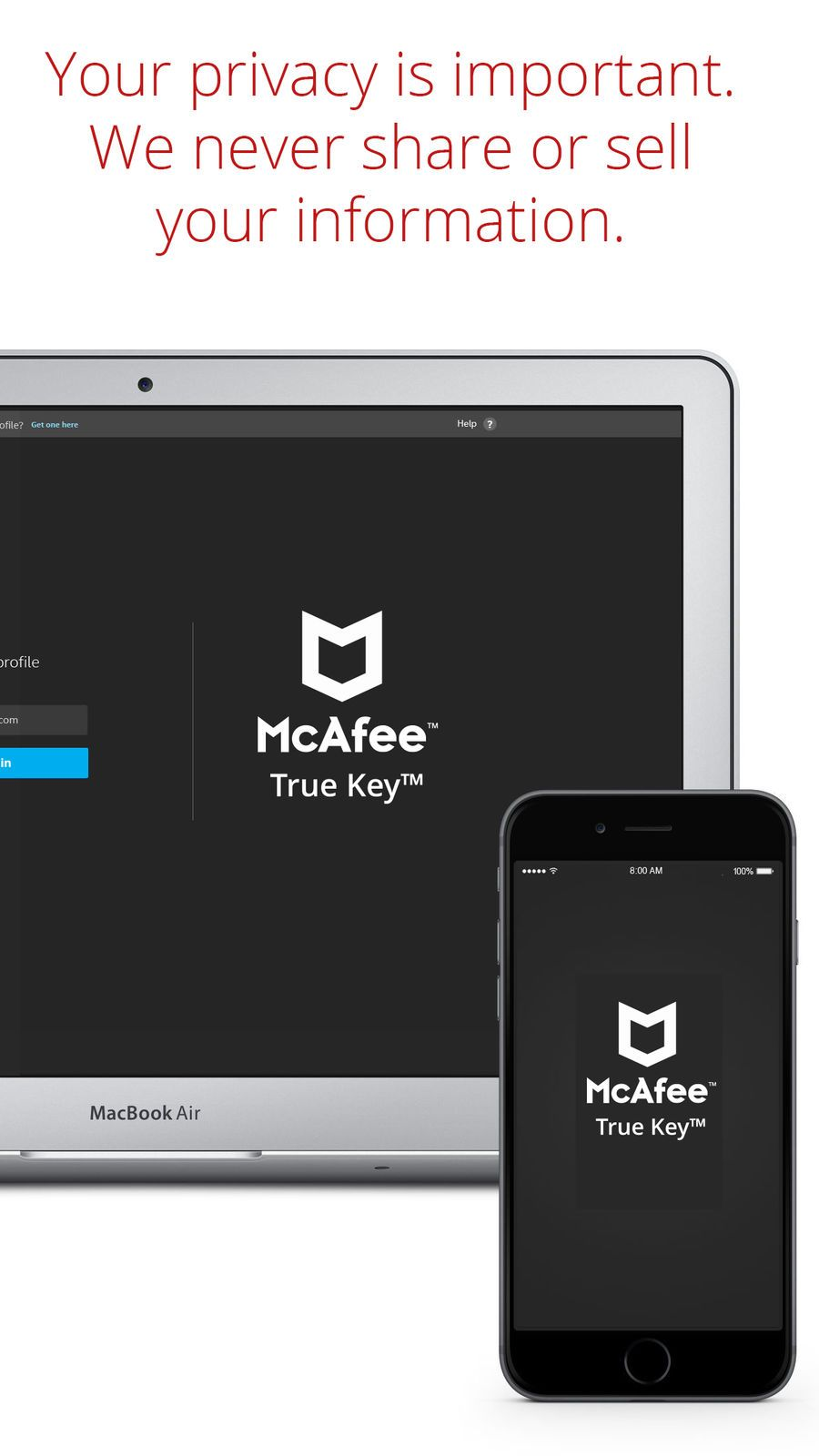 True Key? by McAfee iosProductivityappapps