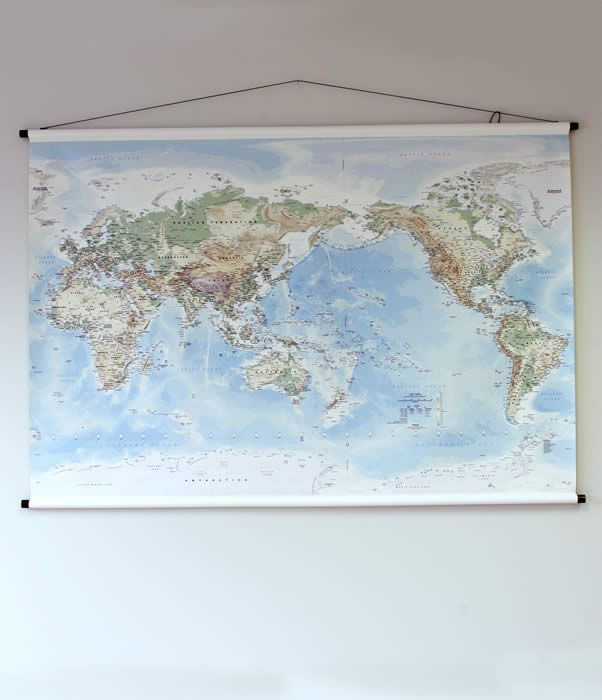 Large world map hanging bally posters pinterest bally poster large world map hanging gumiabroncs Images