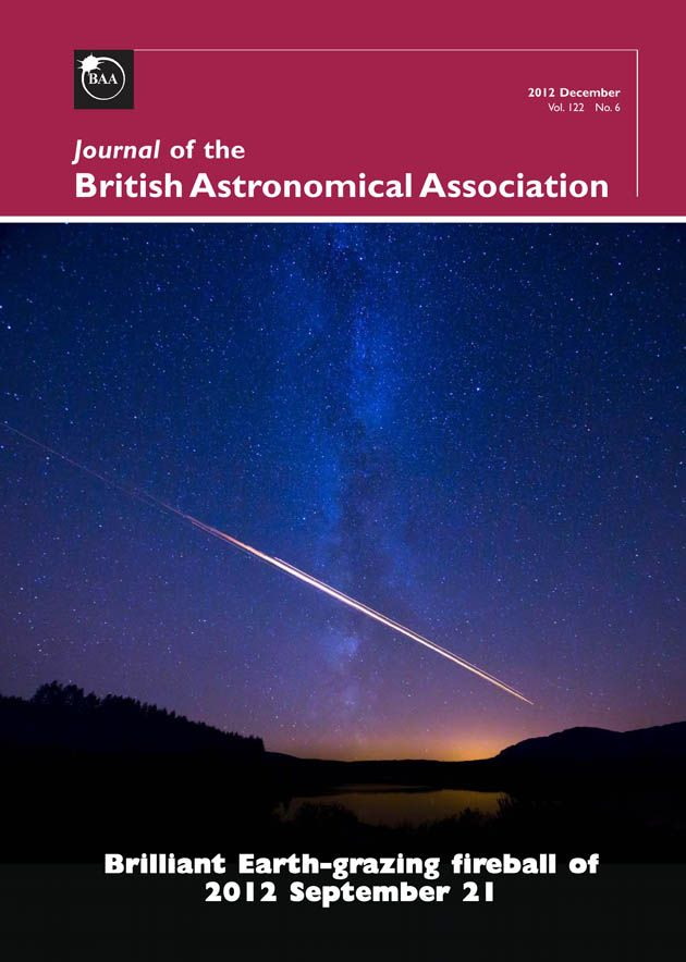 (PDF) Astronomers in Isolation: A New Branch of the