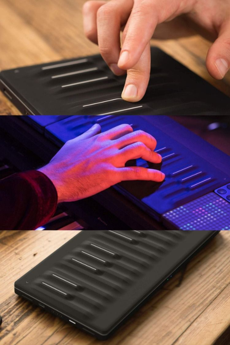 Seaboard Block Studio Edition Super Powered Keyboard Add Instant Expression To Your Music Sensors Technology Super Powers Cool Tech Gadgets