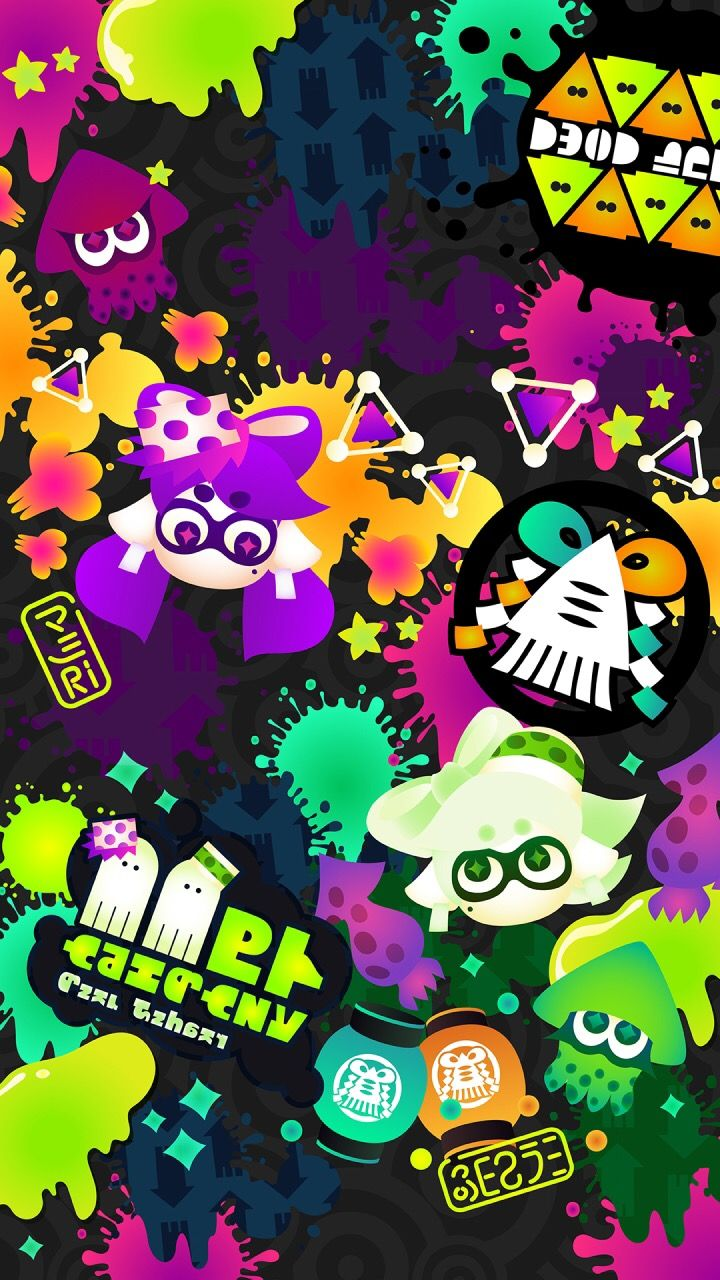 Splatoon wallpaper Splatoon, Splatoon tumblr, Splatoon squid