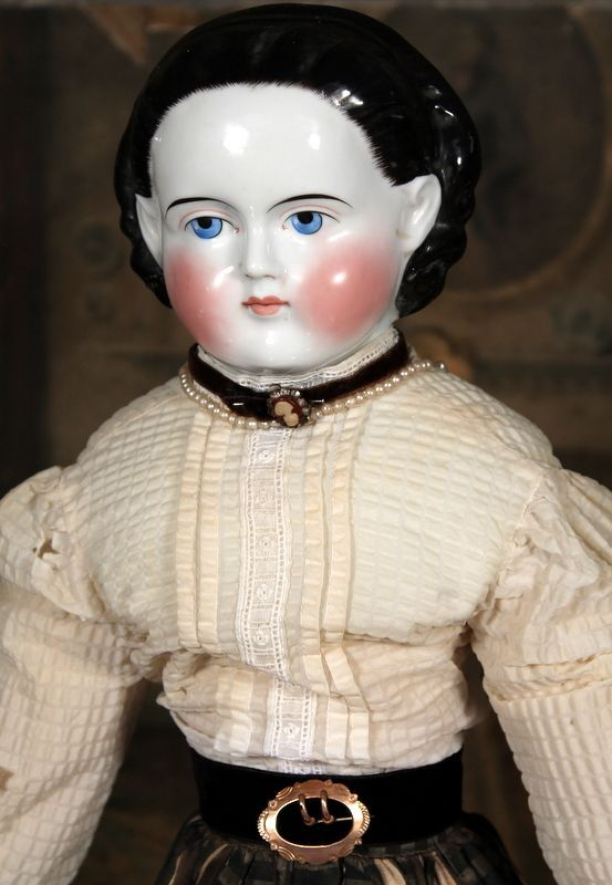 25 Antique Alice German China Doll