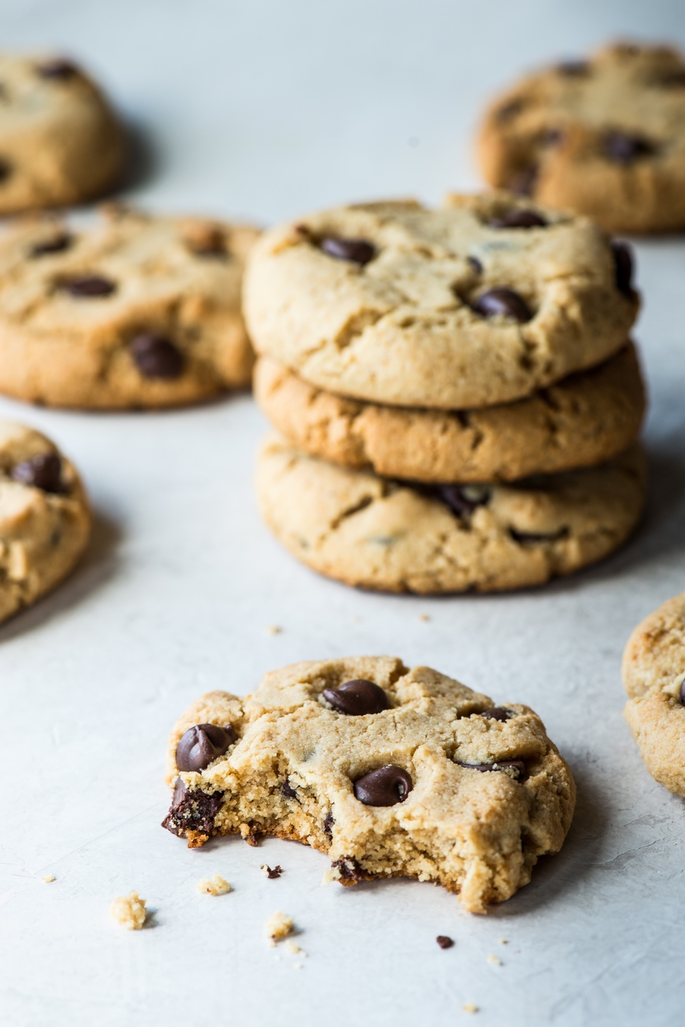 The Best Paleo Chewy Chocolate Chip Cookies Recipe Chocolate Chip Cookies Chewy Chocolate Chip Cookies Cookies Recipes Chocolate Chip