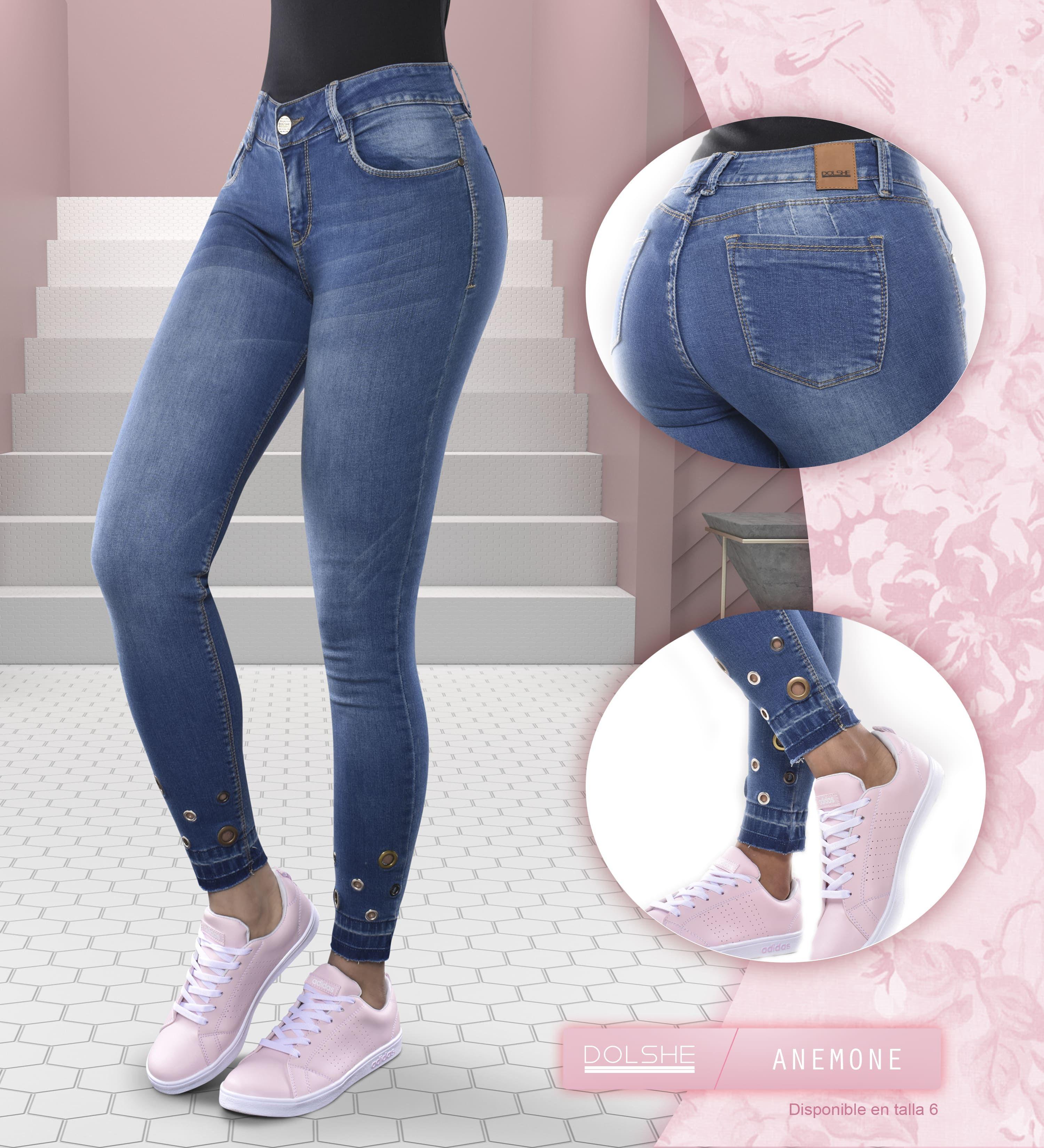 Los Detalles Y Apliques Fijados De Manera Manual Reflejan El Diseño Que Hay En Cada Prenda Jeans De Moda Pantalones De Moda Mujer Pantalones De Mezclilla Mujer