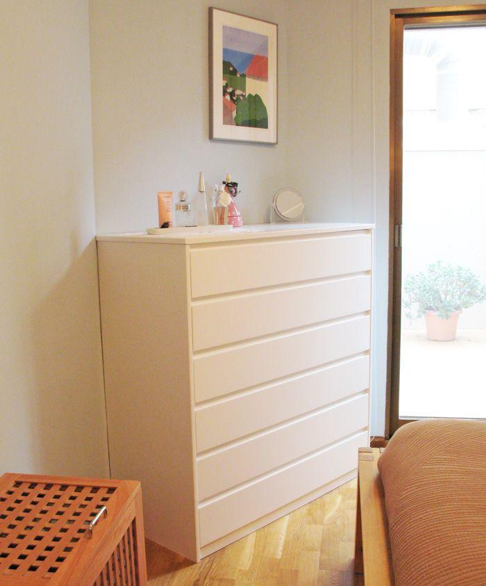 C moda lacada blanco a medida basora dormitorios a medida pinterest muebles dormitorios - Comodas a medida ...