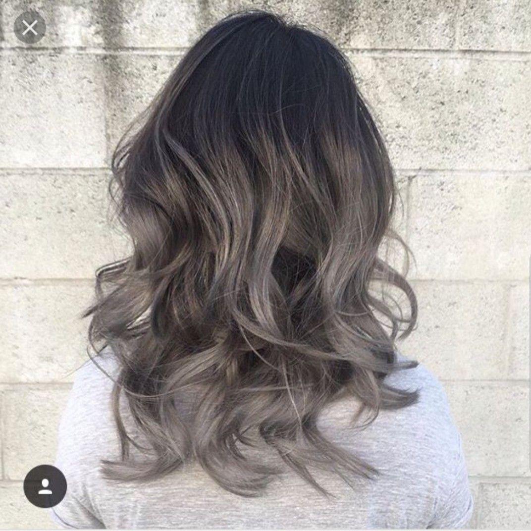 グレーカラーヘアスタイル おしゃれまとめの人気アイデア Pinterest