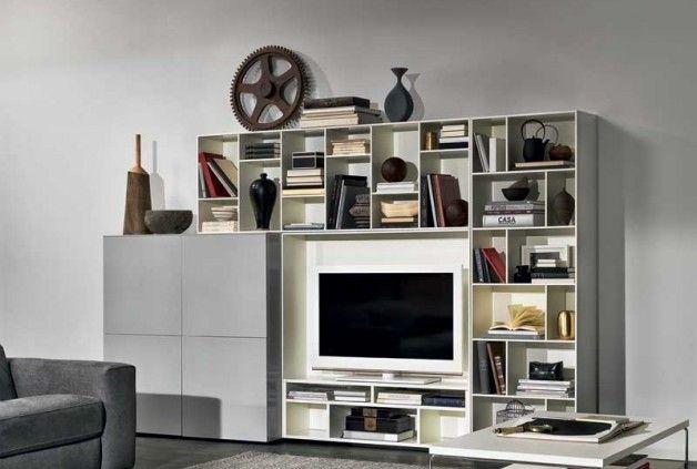 Novecento Wall Unit And Tv Stand By Natuzzi Italia Wall Unit Night And Day Furniture Natuzzi