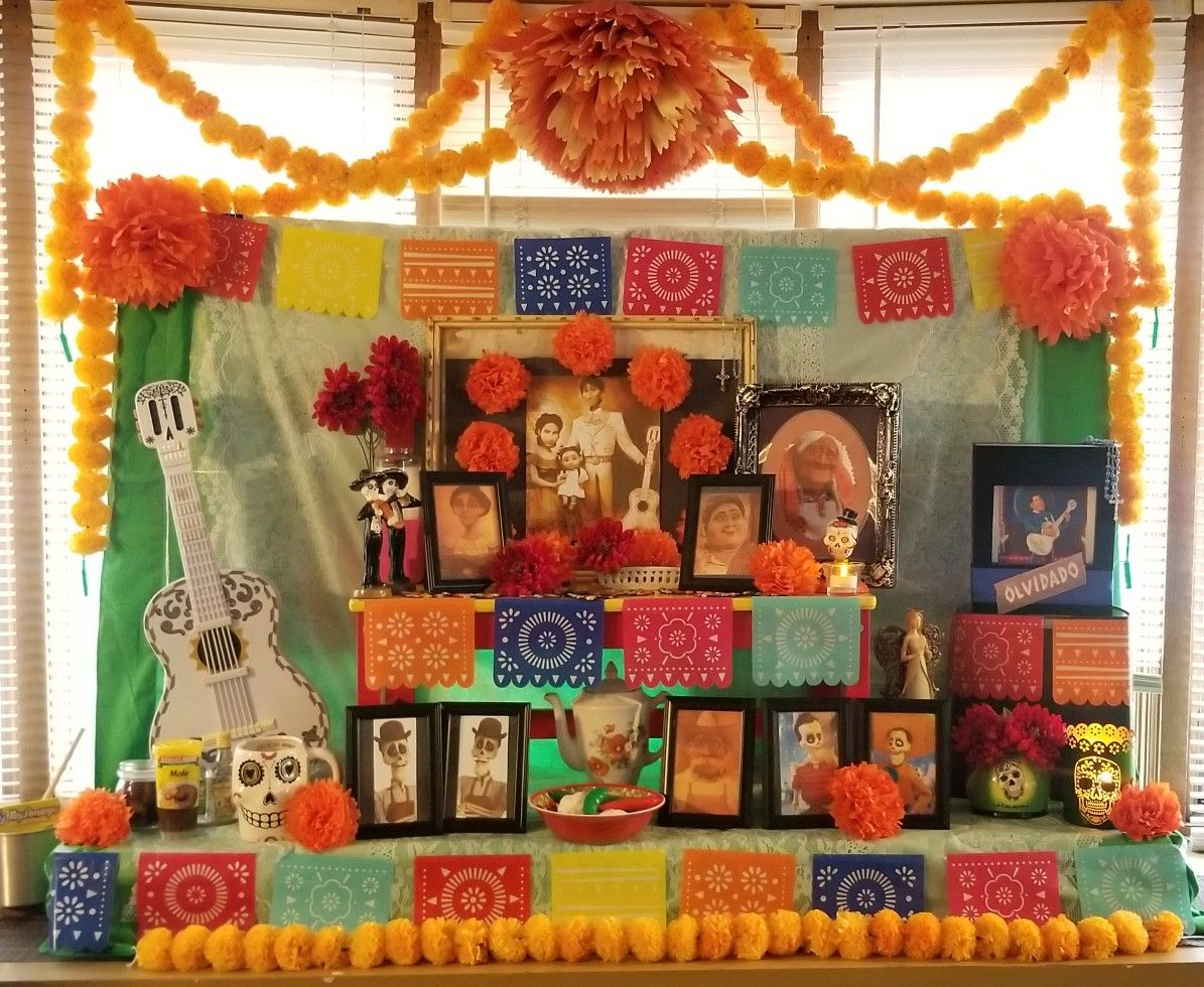 Coco Birthday Party Decoration Altar Ofrenda With Images
