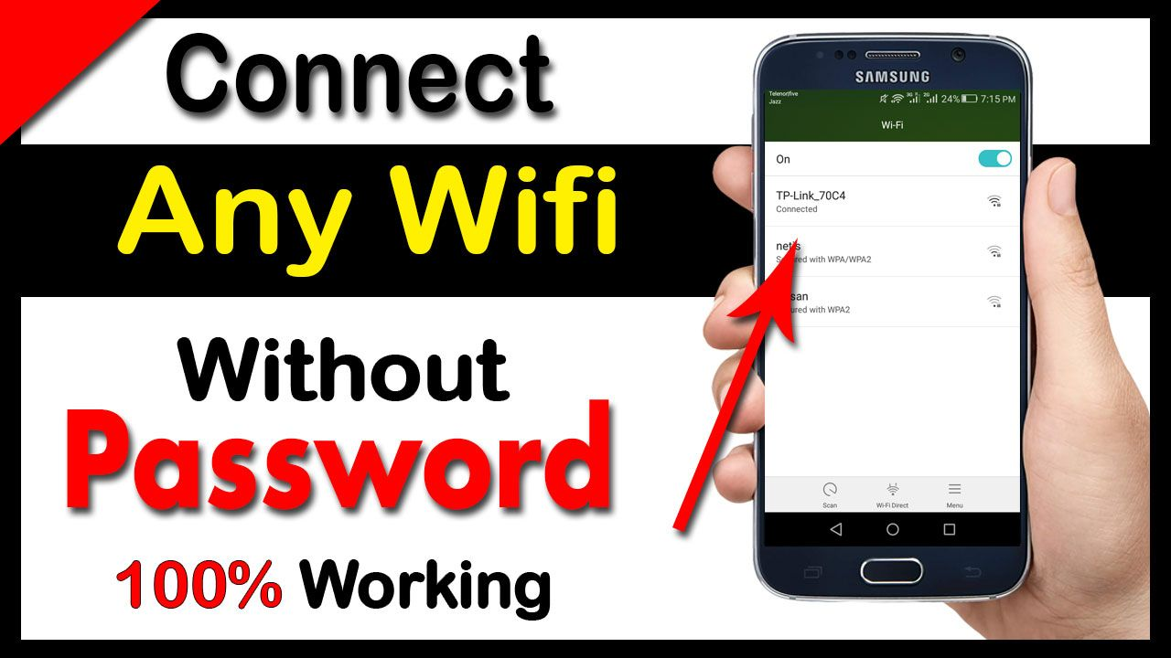 How to Connect Any Wifi Network Without Password in 2020
