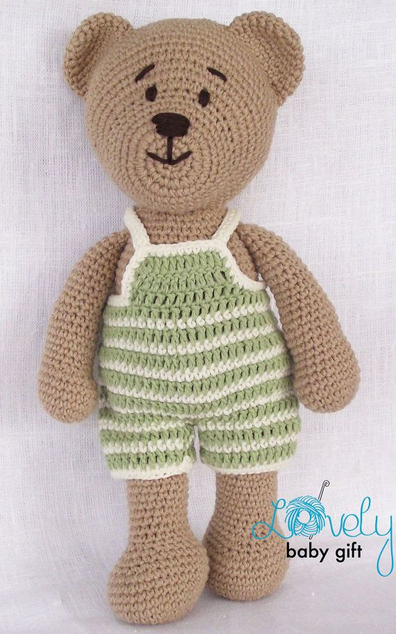 Crochet Pattern, Amigurumi, Crochet Teddy Bear Pattern, CP-129 ...