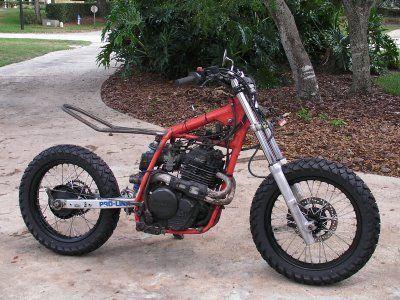 Honda XL600r Street Tracker Tracker motorcycle, Street