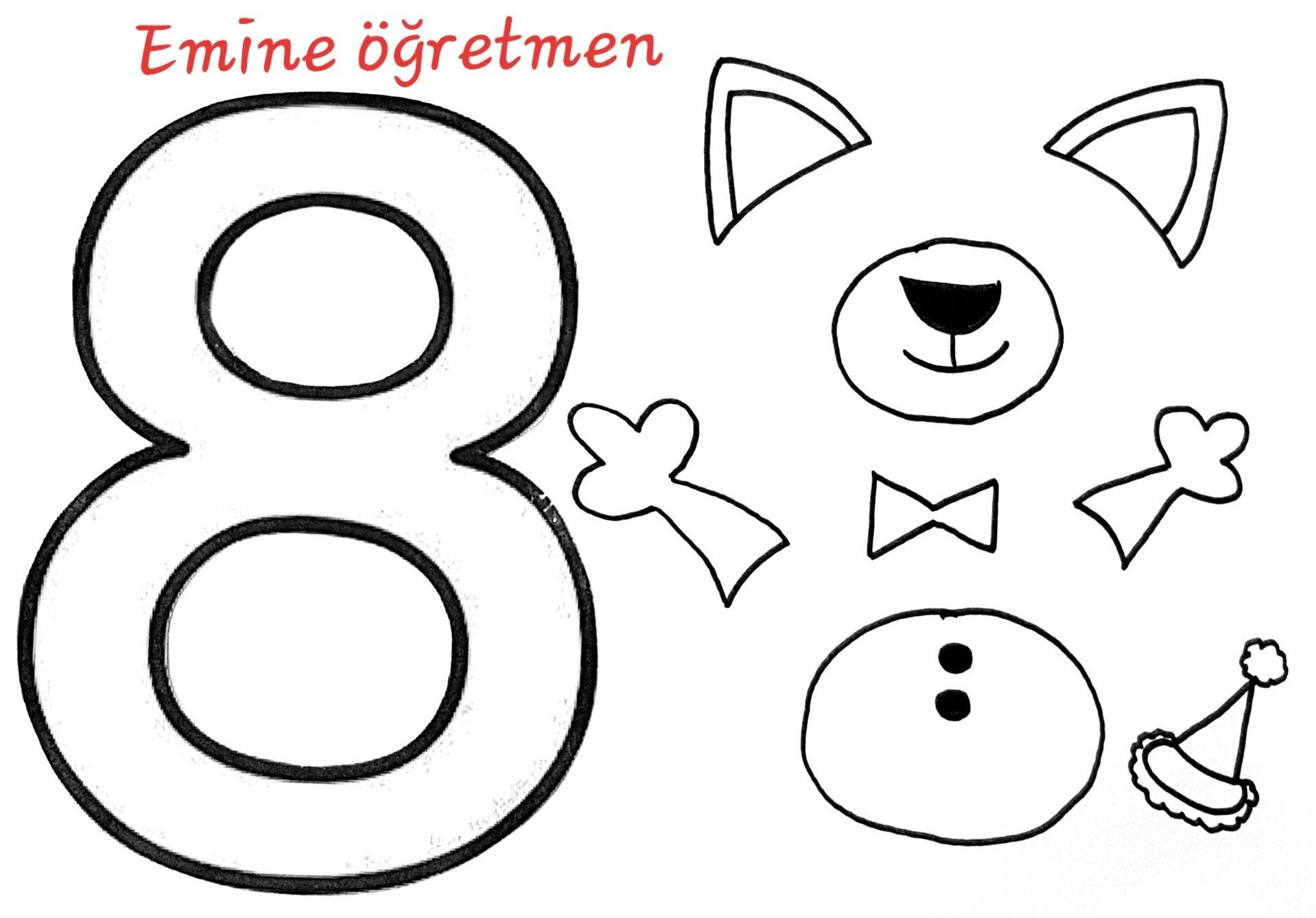 Emine Ogretmen 8 Rakami Kedi Kalibi Ogrenme Faaliyetler Ve Okul