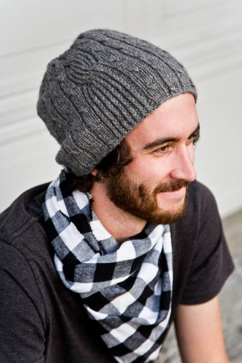 Knitting Pattern for Men\'s Hat - Bartek | Pinterest | Knitting patterns