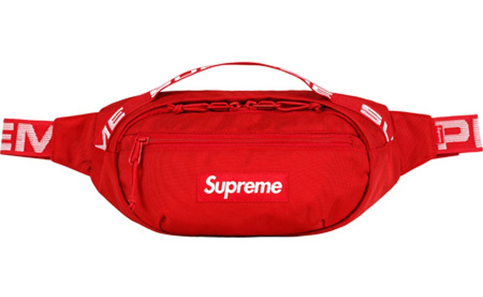 42cc5c8c Check out the Supreme Waist Bag (SS18) Red available on StockX ...