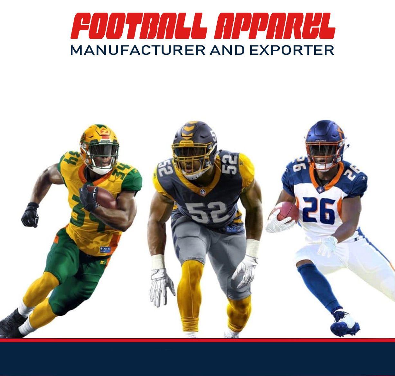 Custom sublimation American football uniform Fabric: spandex