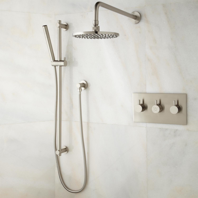 Brewst Brass Rain Shower & Hand Shower System | My 1st apartment ...