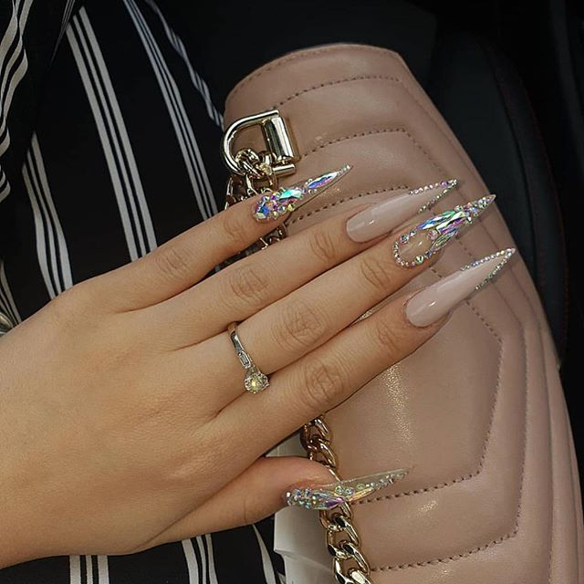 Instagram Stiletto Nails Designs Long Stiletto Nails Pretty Acrylic Nails