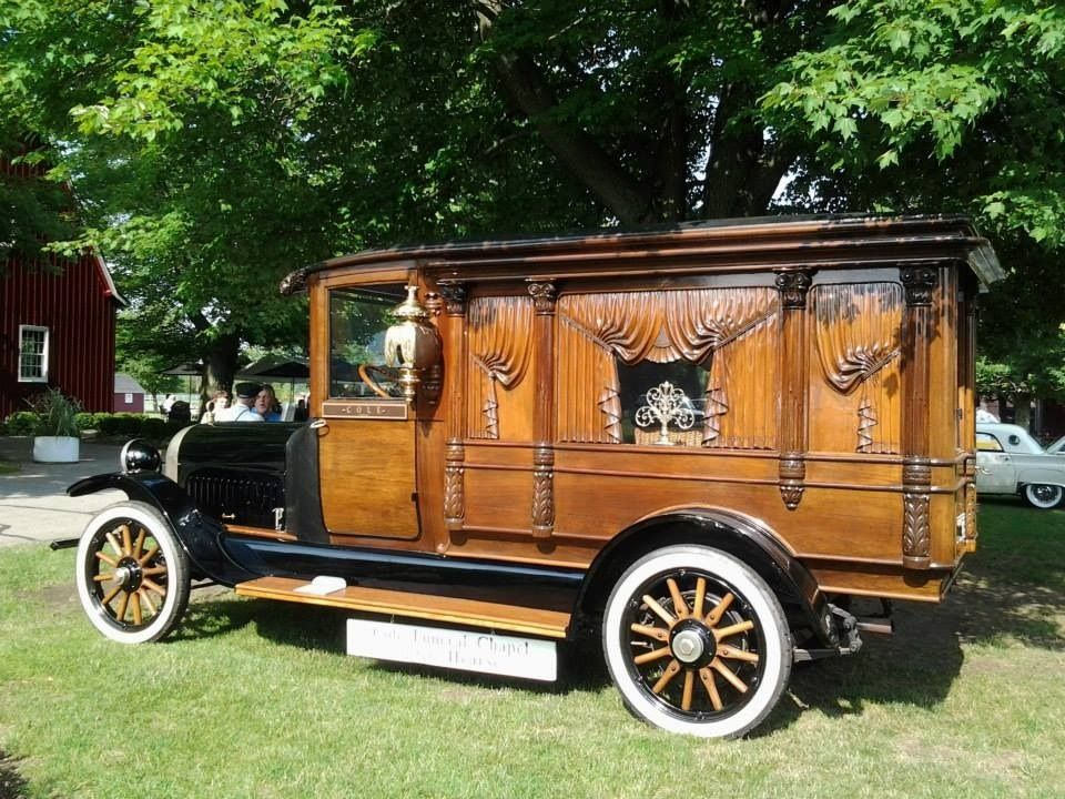An old hurst at the Gilmore car museum . (With images