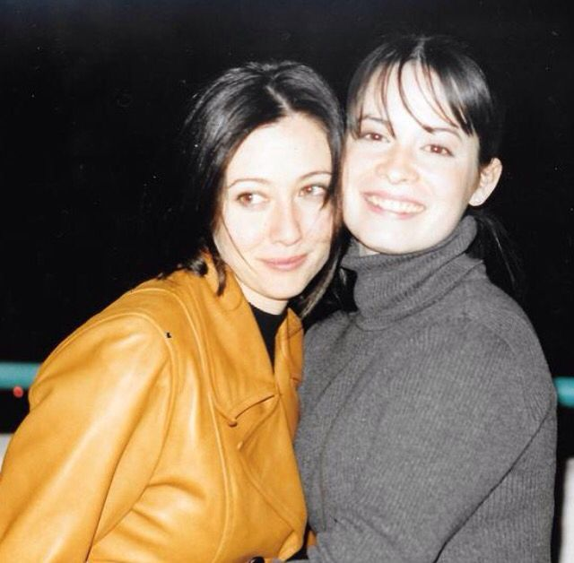 Holly Marie Combs & Shannen Doherty from Charmed
