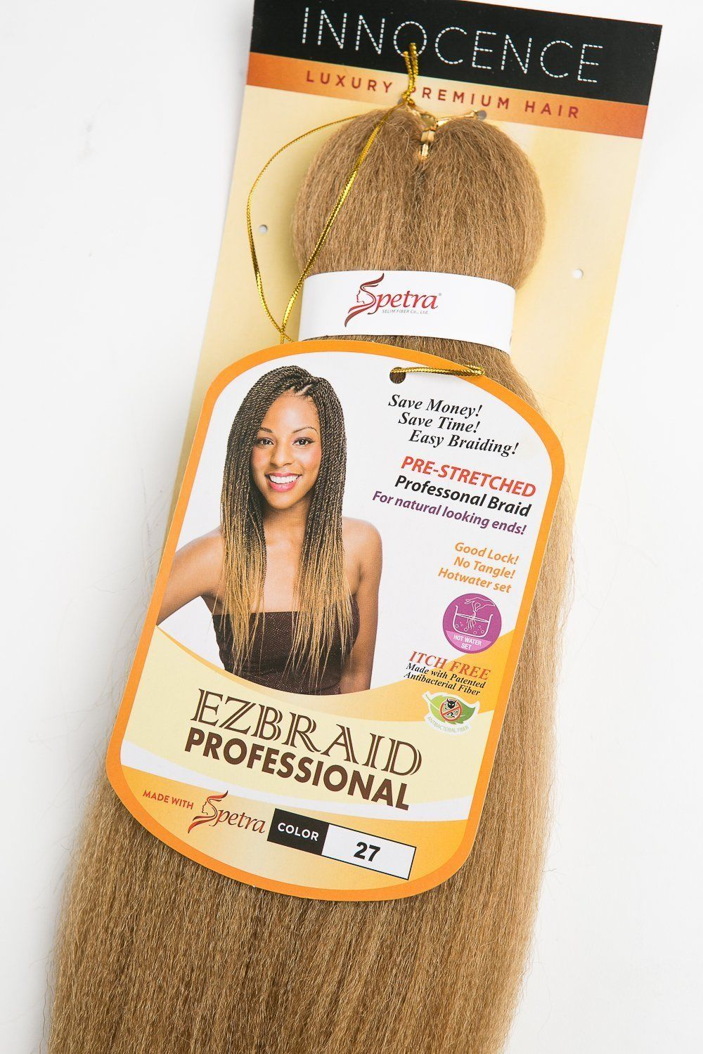 innocence ez braid prestretched easy braiding hair itch