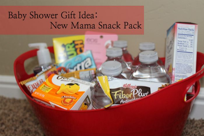 Diy Baby Shower Gift New Mother Snack Pack Diy Baby Gift And Babies