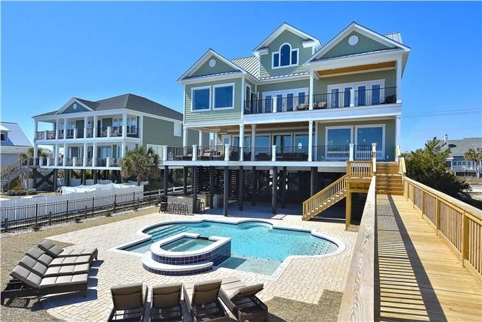 Luxurious Oceanfront Home With Swimming