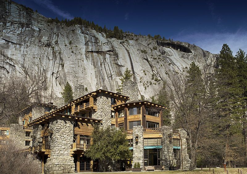 Ahwahnee Hotel Yosemite National Park Valley And Lodges