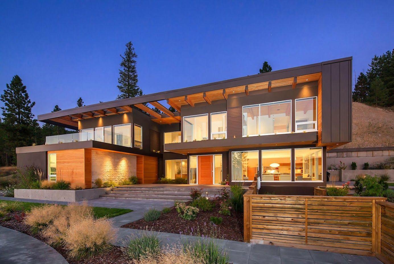 Calgary home builders modern.