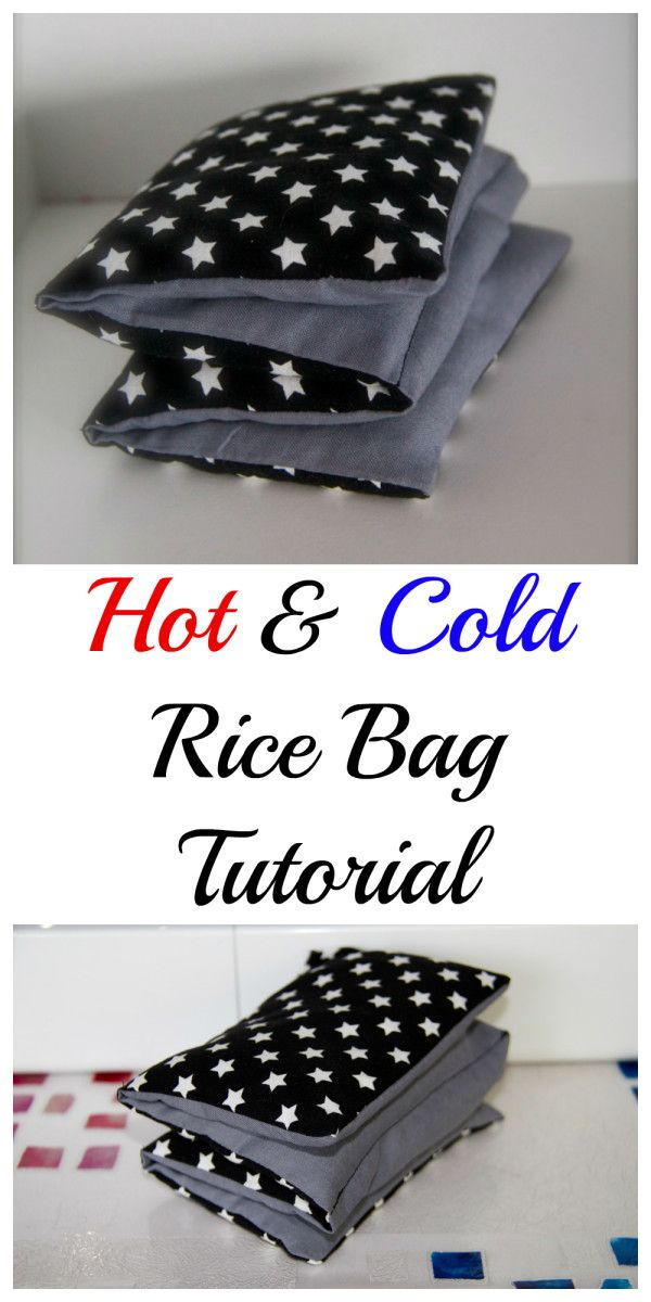 Hot Amp Cold Rice Bag Tutorial Ways To Help Others Rice