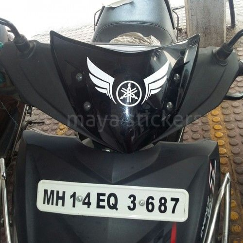 Yamaha Logo Stickers For Yamaha Motorcycles And Scooters India - Mio decalsmotorcycle decalsstickers for yamaha ebay