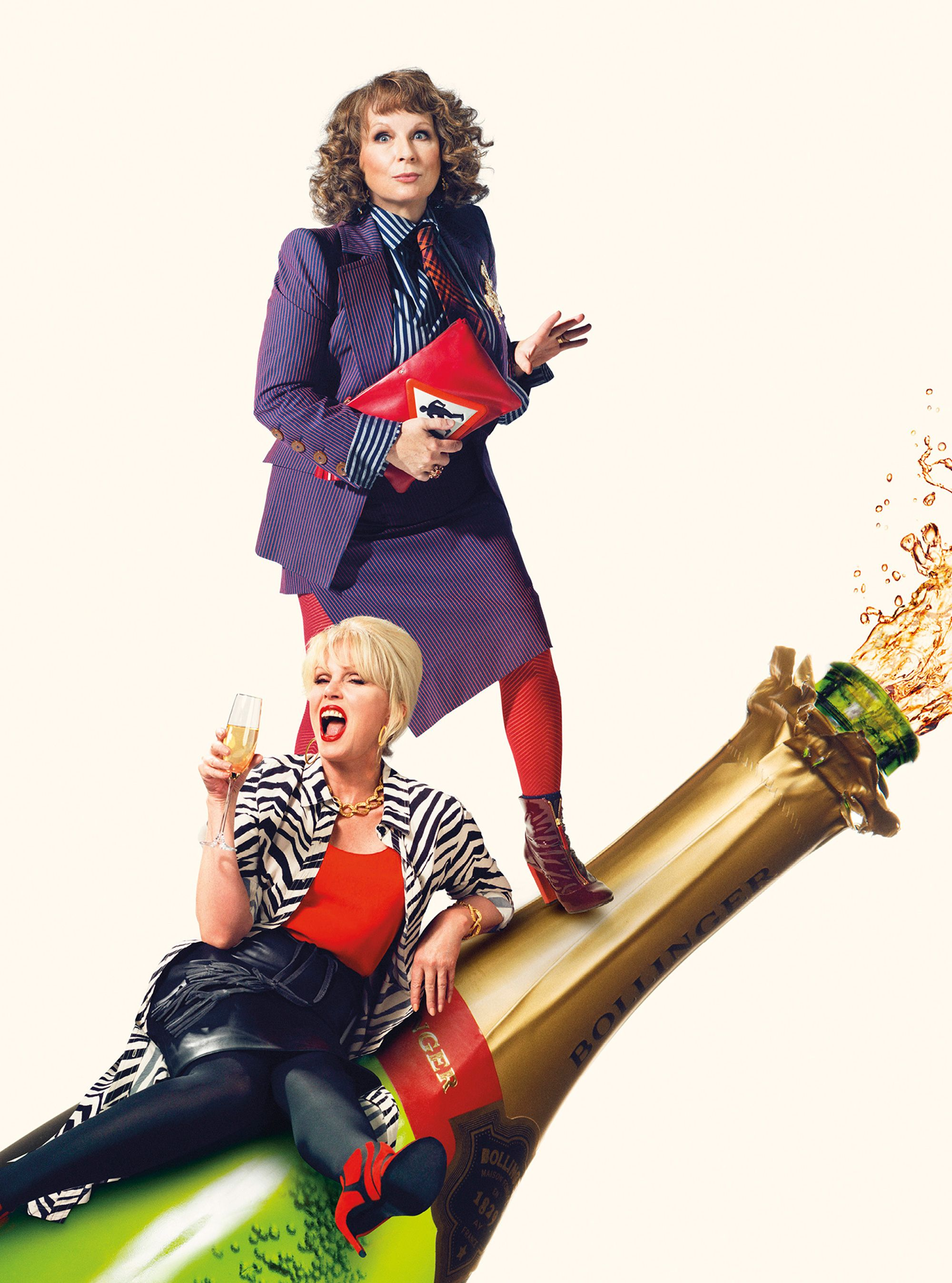 Absolutely Fabulous Movie Poster 2016 With Images Ab Fab