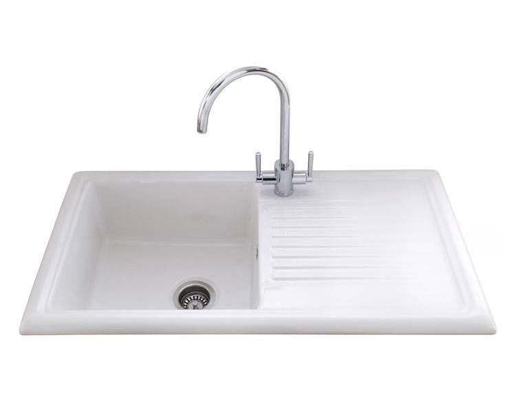 KITCHEN Lamona Single Bowl Ceramic Sink - Howdens | Cottage ...