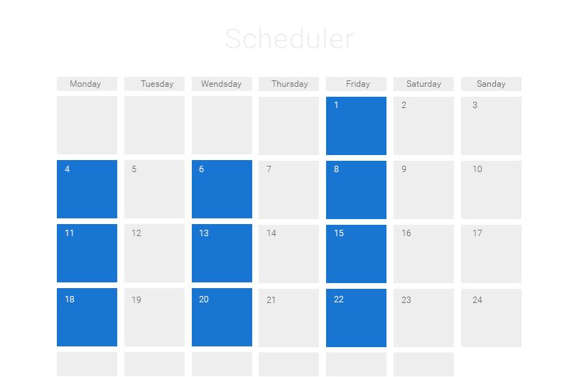 Javascript Calendar.Javascript Event Calendar 12121 Event Calendar Calendar Pet Shop