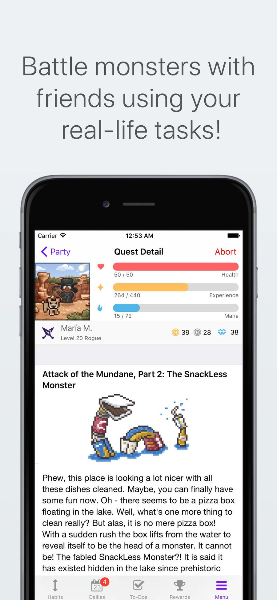 ‎Habitica Gamified Taskmanager on the App Store App