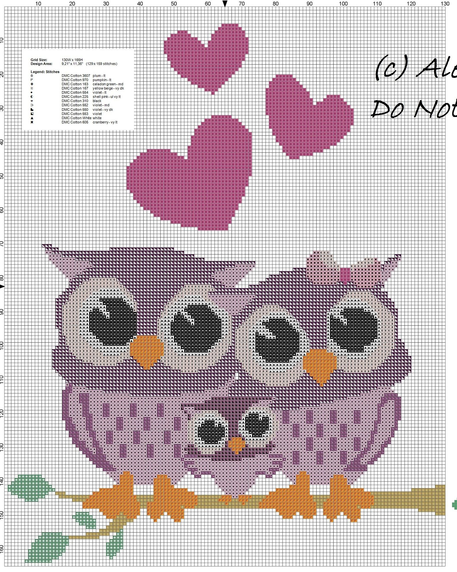 Owls family free cross stitch pattern.jpg | Handwerken | Pinterest ...