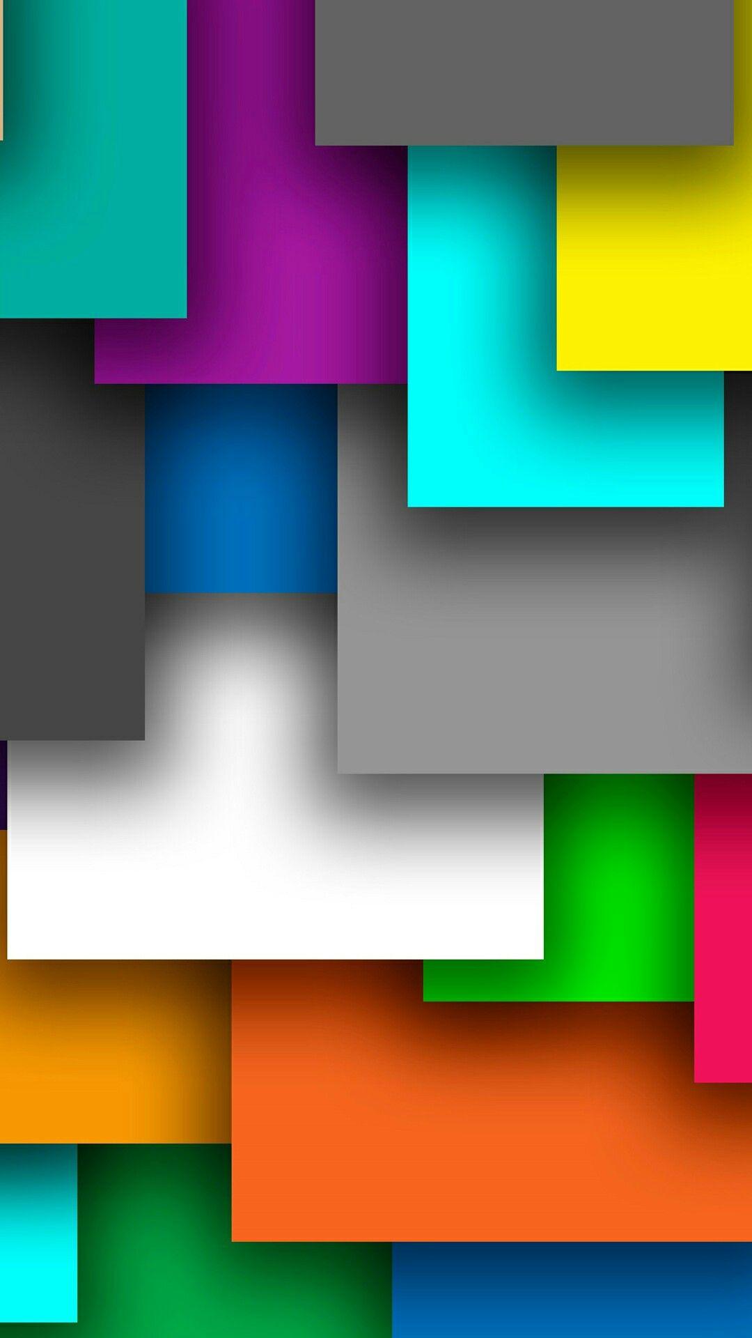 Free Colorful Geometric Wallpaper: Cute Geometric Wallpaper