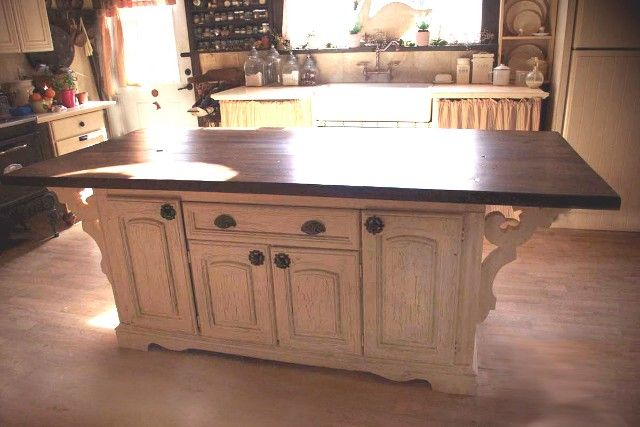 How To Turn An Old Dresser Into A Kitchen Island