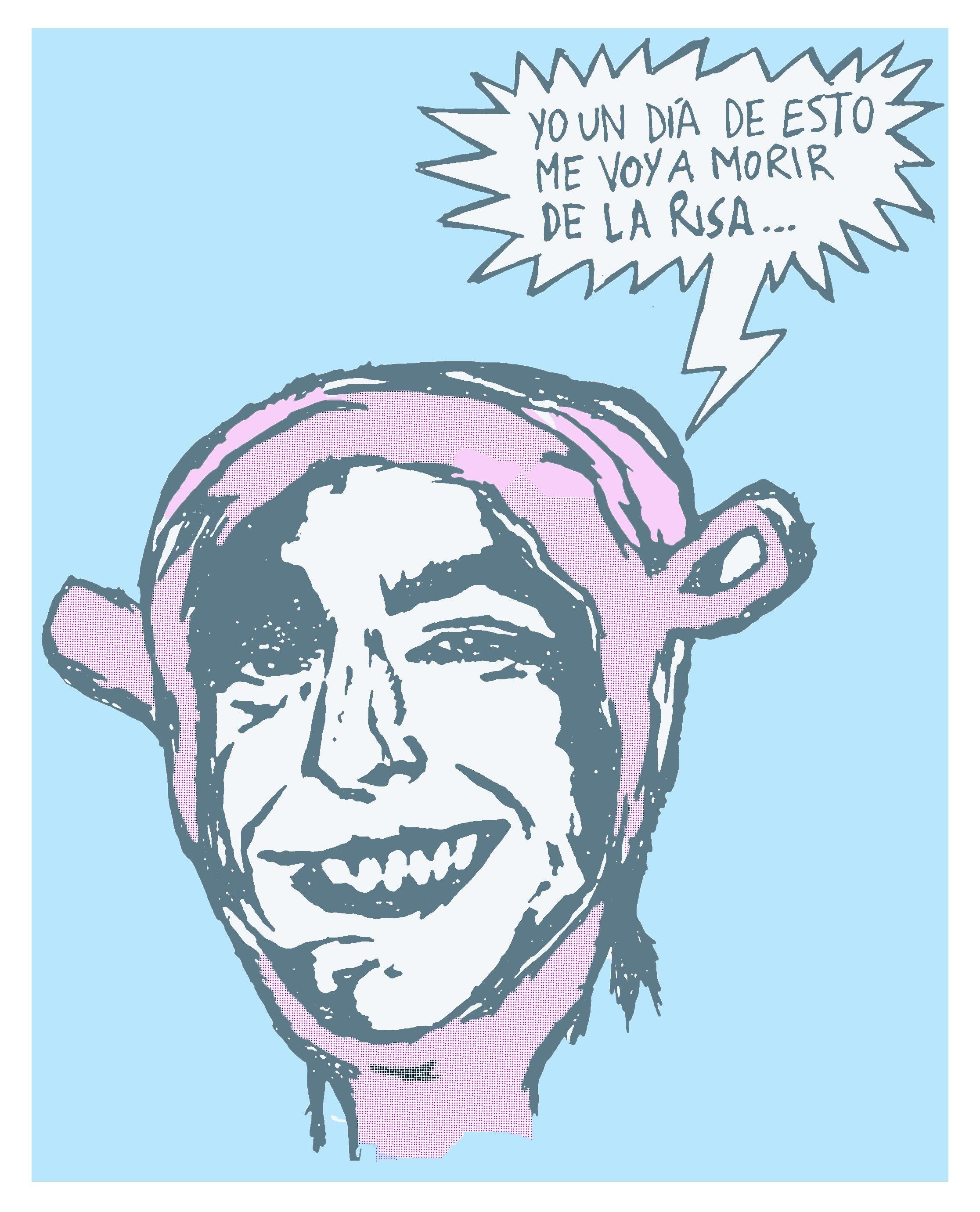 caricatura de mi amigo Mateo!