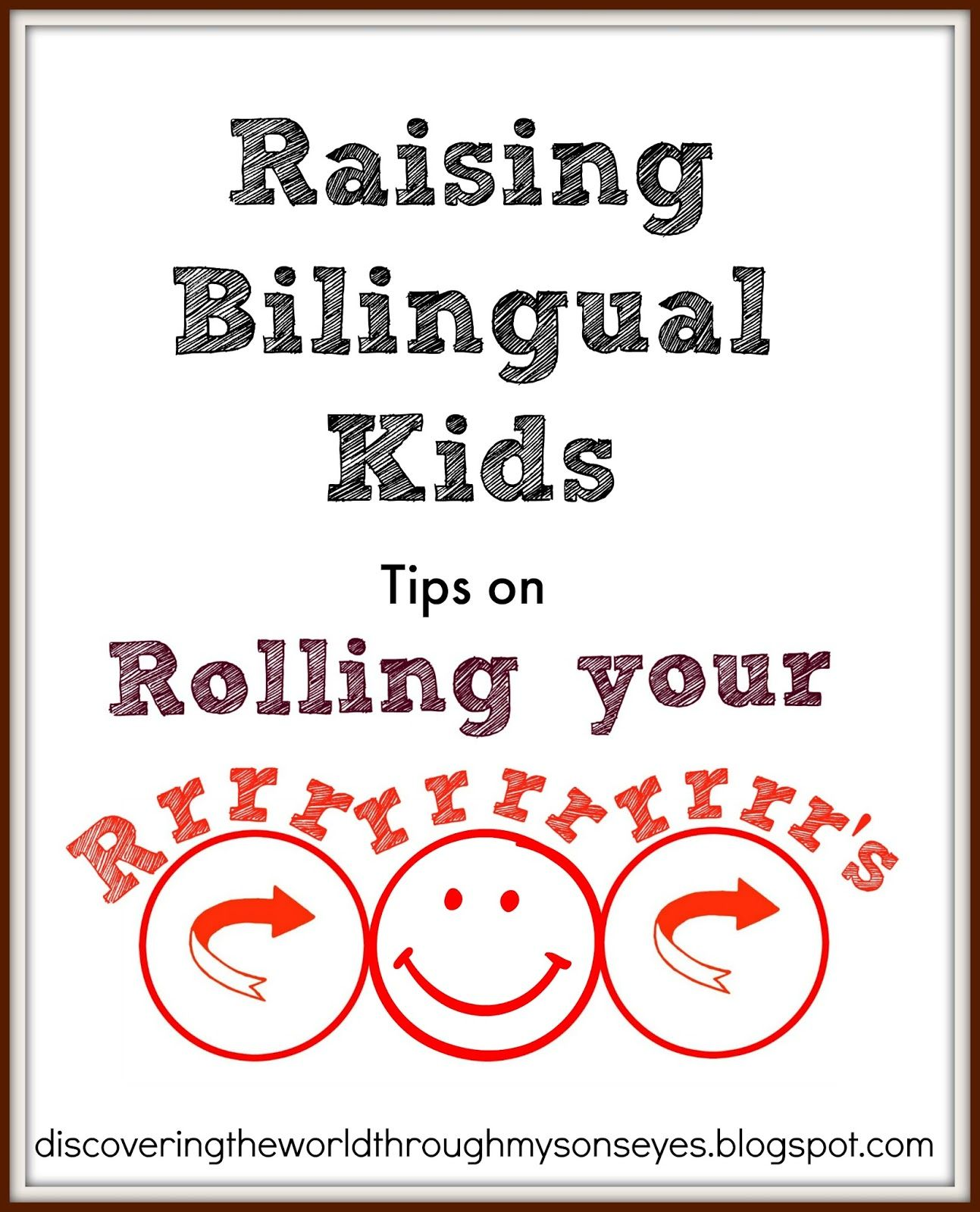 Bilingual Kids Tips On Rolling Your R S With Images