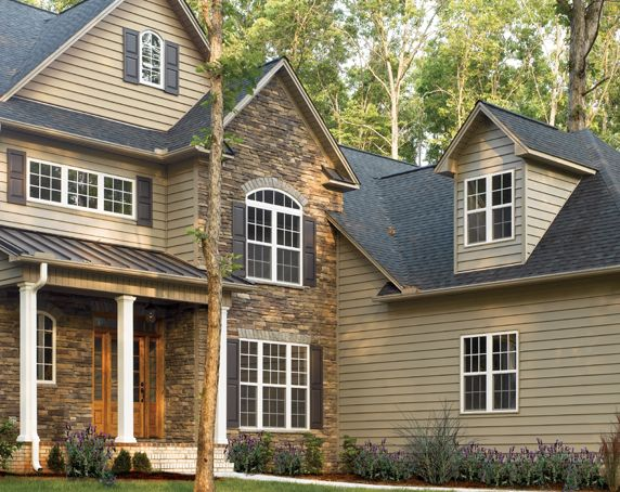 vinyl siding colors houses certainteed siding cedarboards insulated siding clapboard xl - Clay Siding Pictures Of Houses
