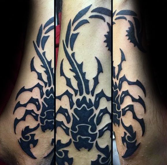 50 Tribal Scorpion Tattoo Designs For Men Manly Ink Ideas Sc