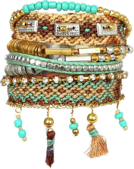 new styles 33379 767e0 Hipanema Bracelet Turquoise in Blue | DIY and crafts I like ...